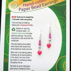 SOLD! - Valentine Earrings - Pink