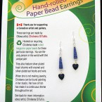 Valentine Earrings - Royal Blue