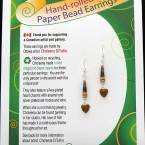 Valentine Earrings - Brown