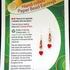 Valentine Earrings - Red