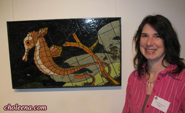 Seahorse at Trinity Art Gallery