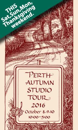 Perth Autumn Studio Tour brochure cover 2016