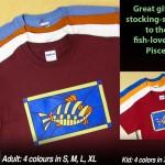 Fish T-shirts. $29