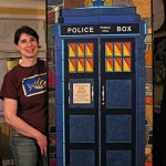 The original mosaic that influenced all my TARDIS-y things.