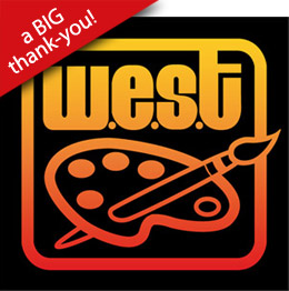 West-End Studio Tour thank-you graphic