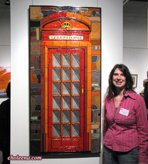 Telephone Booth at Trinity Art Gallery