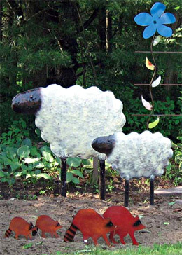 sheep-forest